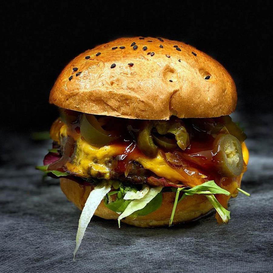 Mérges Burger - AranyCipó pékség