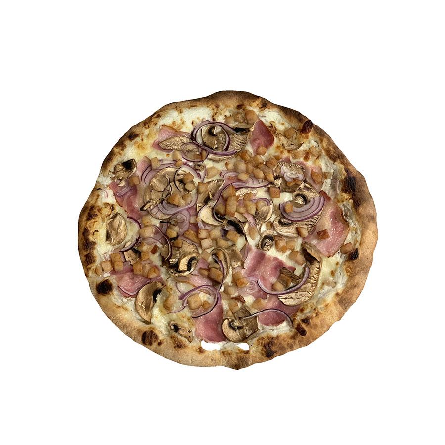 Pizza tejfölös-baconos - AranyCipó pékség
