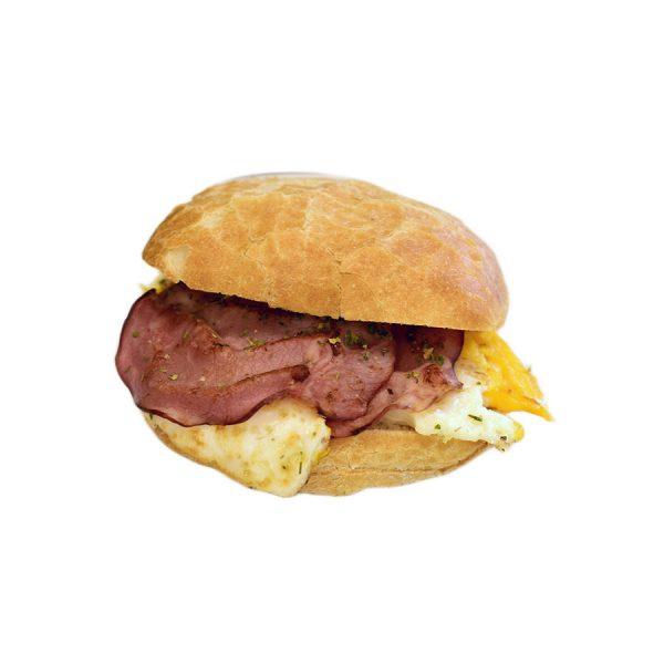 Reggeli tükörtojásos szendvics - AranyCipó pékség
