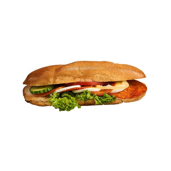 Szalámis holland szendvics - AranyCipó pékség