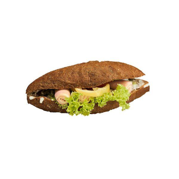Teljes kiőrlésű sonkás szendvics - AranyCipó pékség